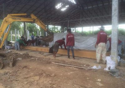 Manjushri Center Thailand Main Hall Work September 2016