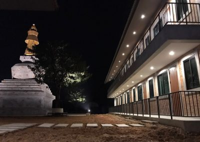 Manjushri Retreat CenterThailand Oct 2017 by night